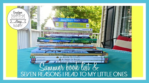 summer book list and 7 reasons