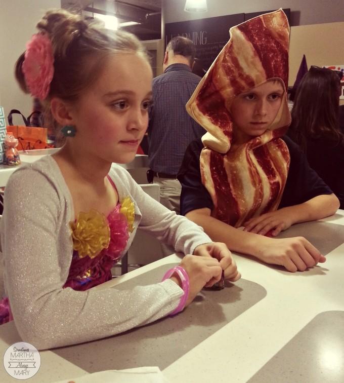 watching magician Halloween 2015