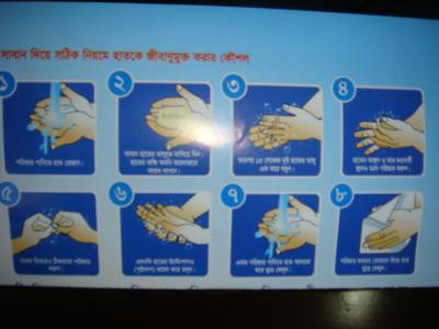 Image result for হাত ধোয়ার ছবি