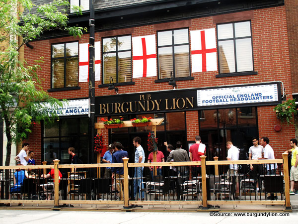 The Burgundy Lion