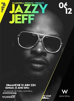 DJ Jazzy Jeff @ Wunderbar