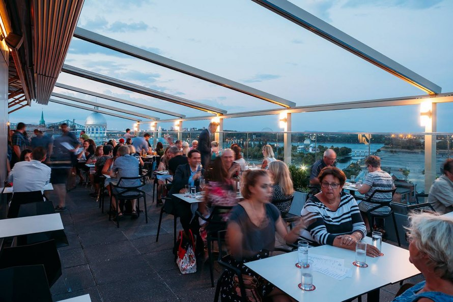 Rooftop William Gray Bars Cocktails So Montreal