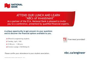 ABCs of Investment Lunch and Learn