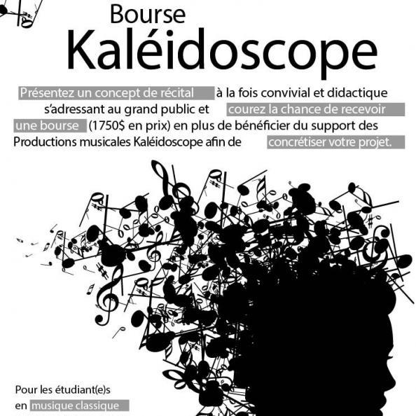 Auditions publiques Bourse Kaléidoscope 2015