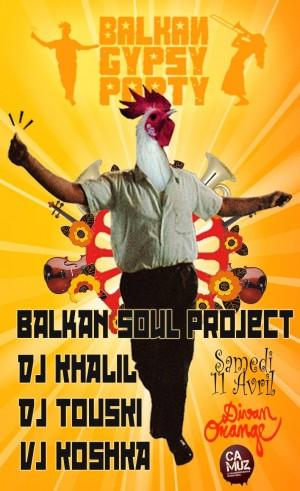 Balkan Soul Project & Invités
