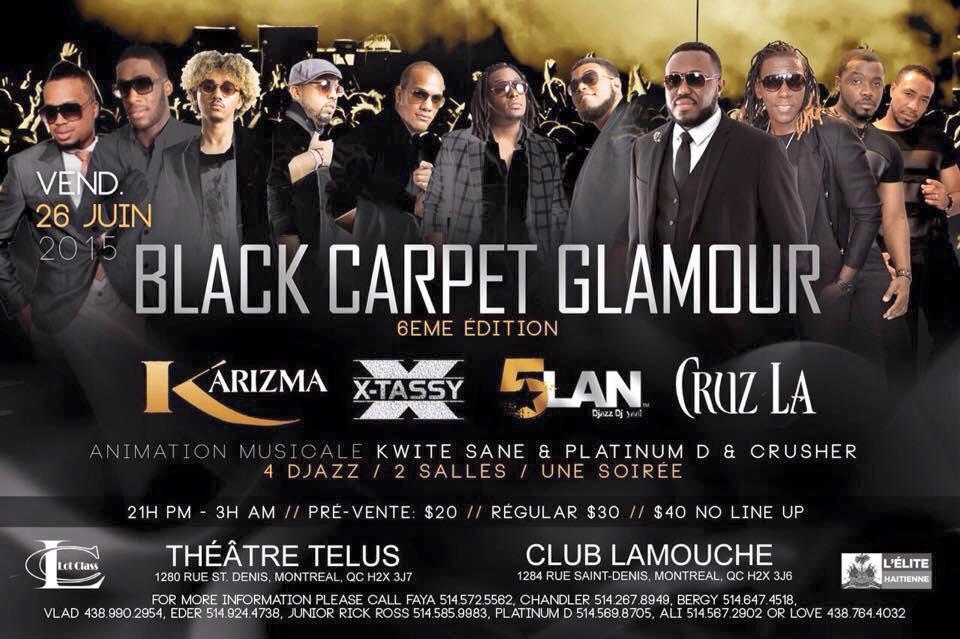 Black carpet glamour 6ème édition