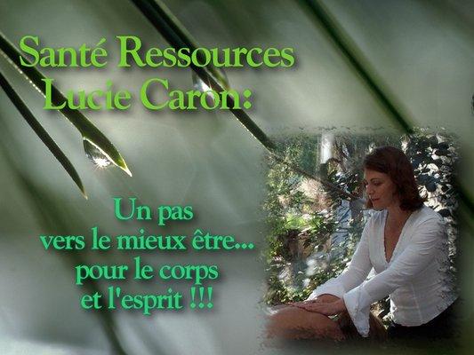 Caron Lucie Sante Ressources
