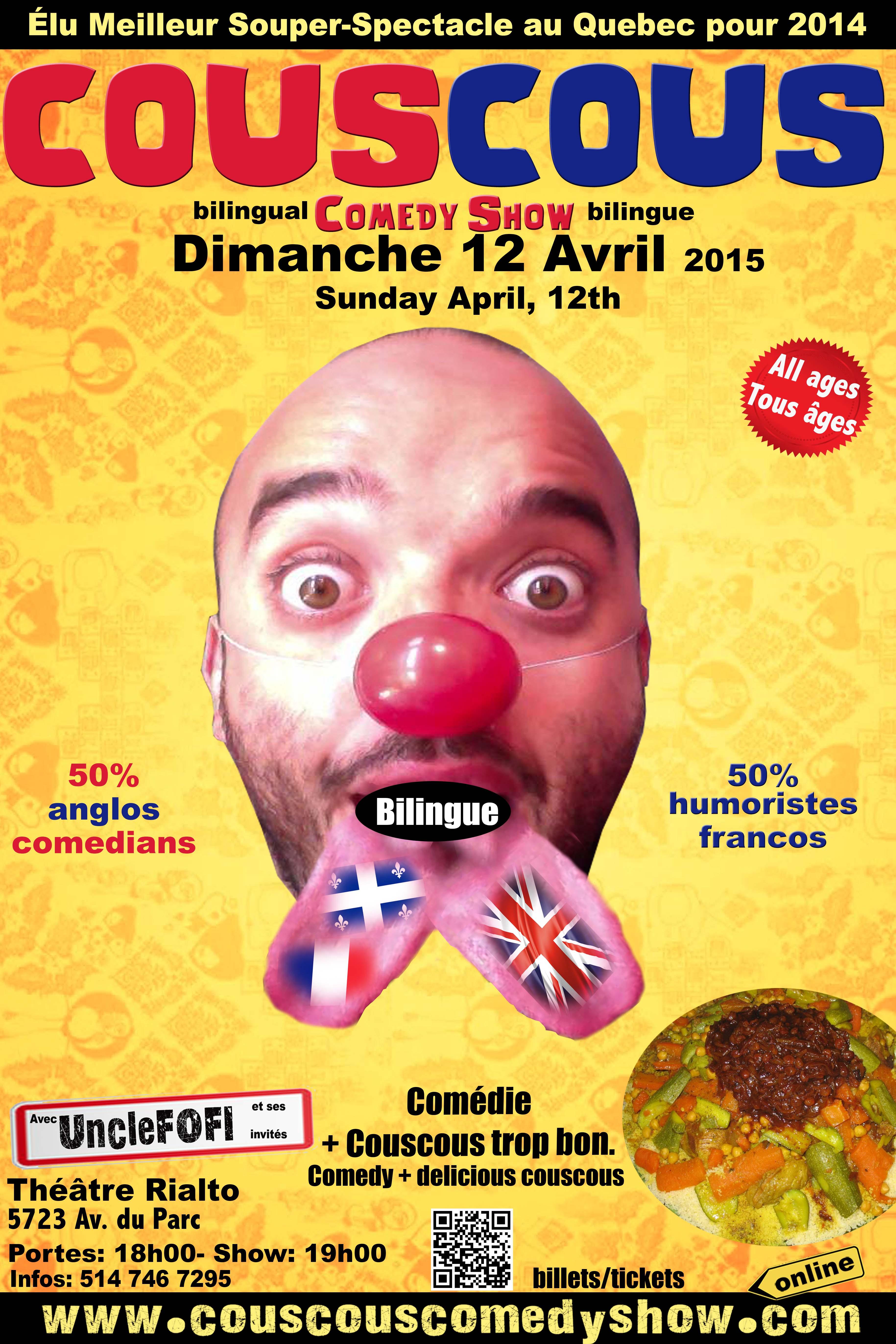 Couscous Comedy BILINGUE Show