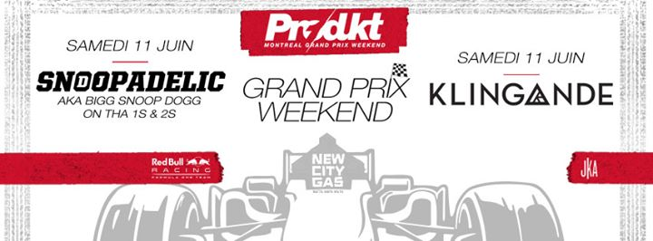 DJ Snoopadelic + Klingande Grand Prix Weekend - 06.11.2016