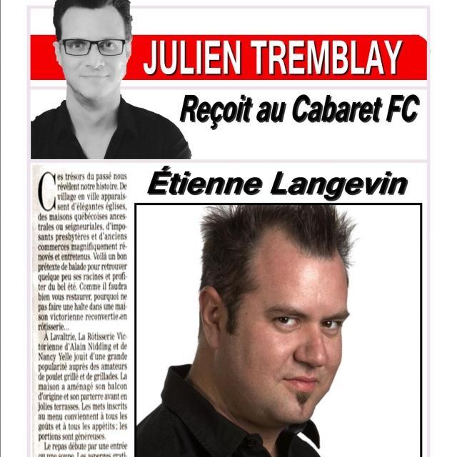 Etienne Langevin | Souper spectacle