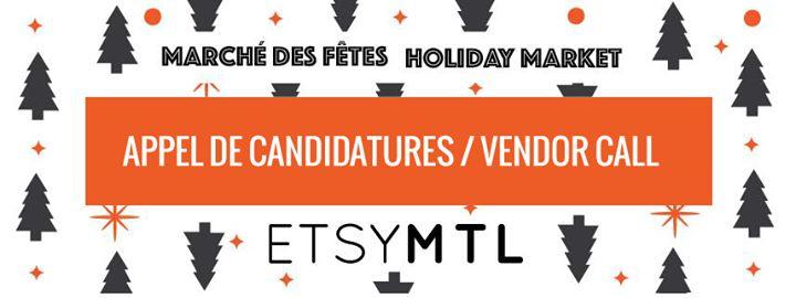 Etsy Montréal: Marché des fêtes - Holiday Market