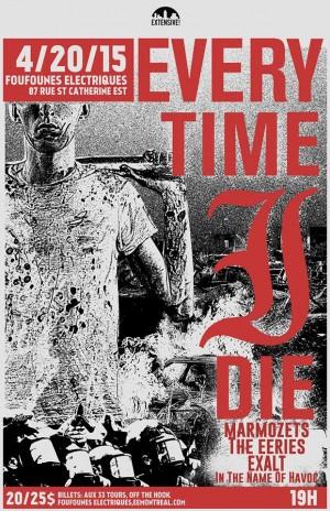 Every Time I Die & Invités