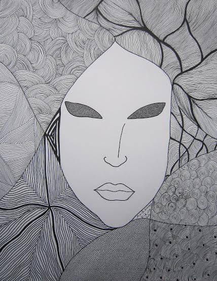 Exposition des dessins de Marielle de Vassoigne