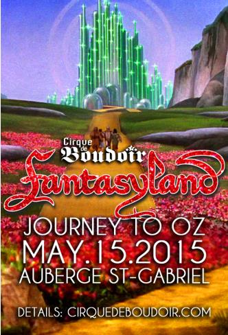 FANTASYLAND 2015 Journey to Oz