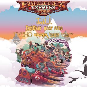 Full Flex Express, Jack Ü, Zeds Dead, A$AP Ferg et 4 more…