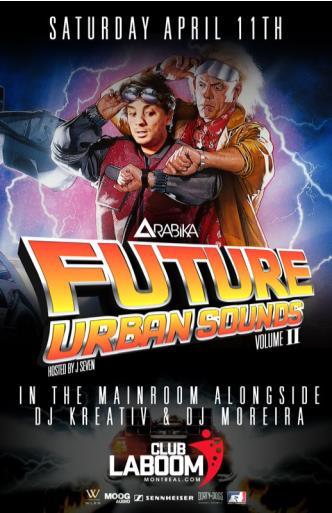 Future Urban Sounds Ft. DJ Arabika
