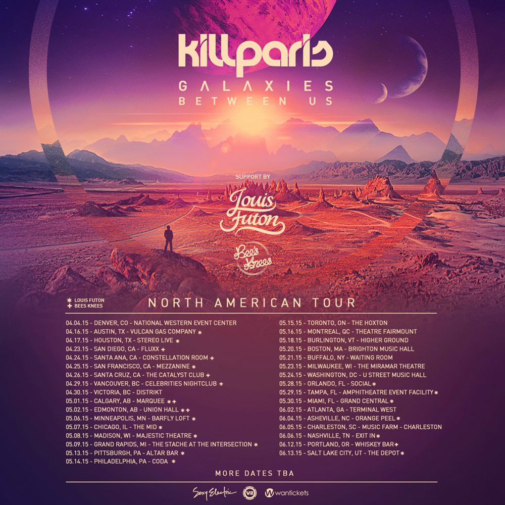KILL PARIS | GALAXIES BETWEEN US TOUR