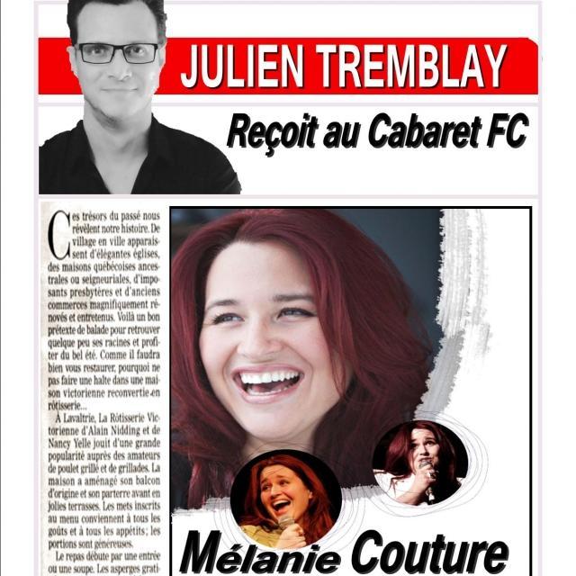 Mélanie Couture | Souper spectacle