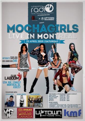 Mochagirls Live In Montreal