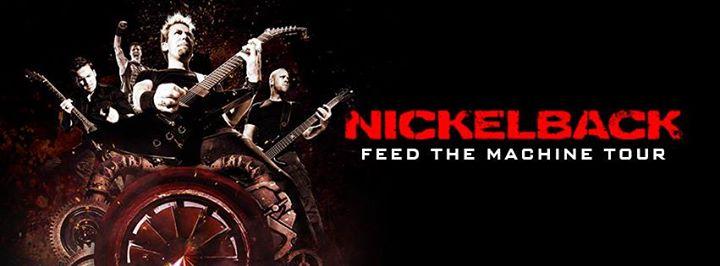 nickelback feed the machine tour setlist