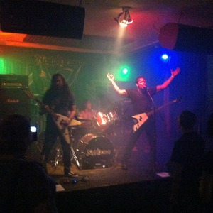 Night Demon with Mutank, CayM, and Meet the Mailman at Piranha Bar (May 22, 2015)