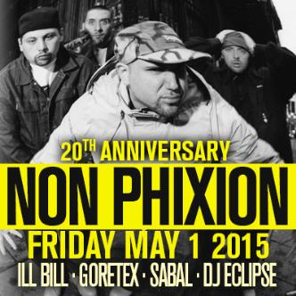 NON PHIXION 20TH ANNIVERSARY TOUR