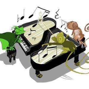 Piano Caméléons