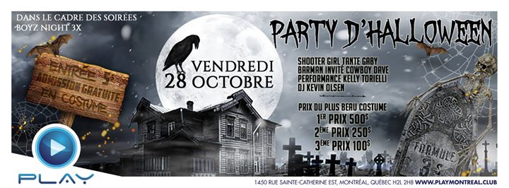 Montreal Halloween Party