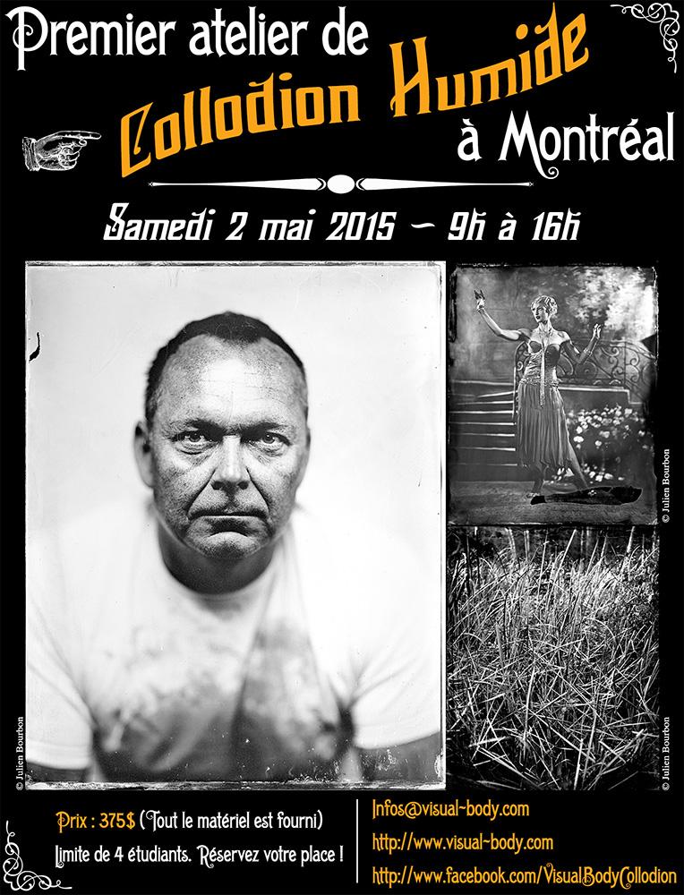 Premier atelier de Collodion Humide à Montréal