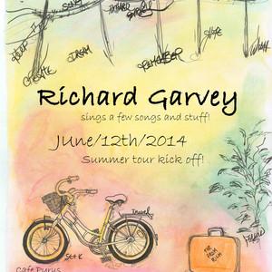 Richard Garvey with Uncle Dan Henshall at The Yellow Door (April 17, 2015)