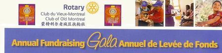 Rotary Vieux-Montréal - Annuel de Levée de Fonds / Annual Fund Raising Gala