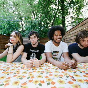 Speedy Ortiz with SANDY Alex G at Bar le Ritz PDB (June 6, 2015)