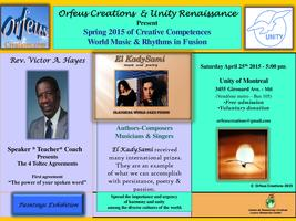 Spring 2015 Creative Competences * Music & Rhythms of the World in Fusion