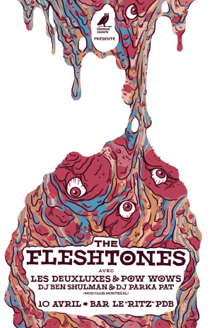 The Fleshtones & Invités
