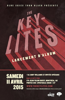 THE KEY-LITES - LANCEMENT D'ALBUM