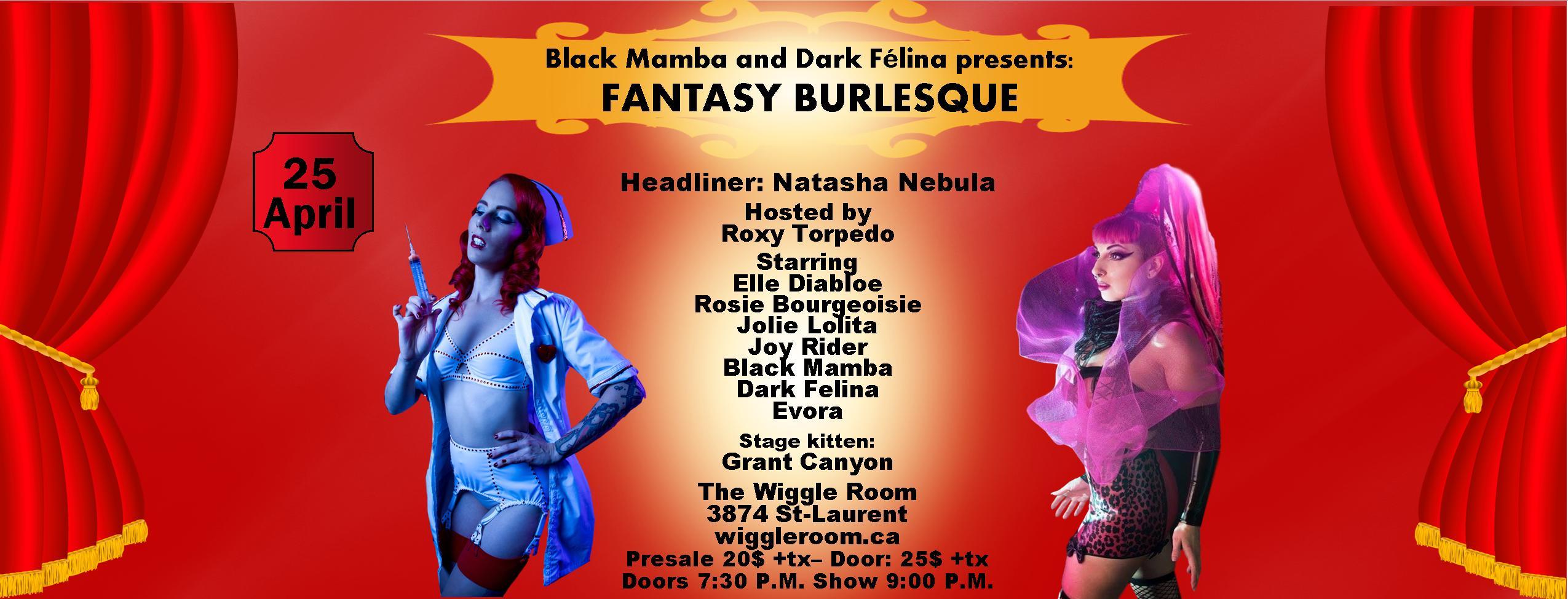 Fantasy burlesque