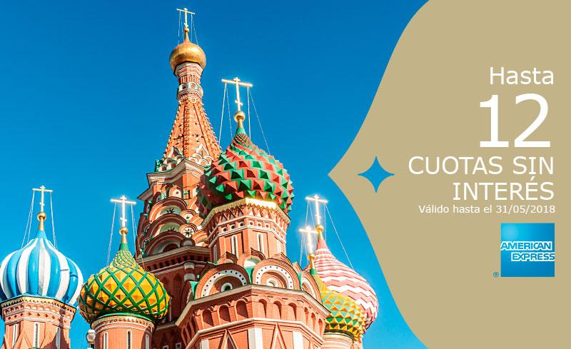 Viajá a Rusia en el 2018!
