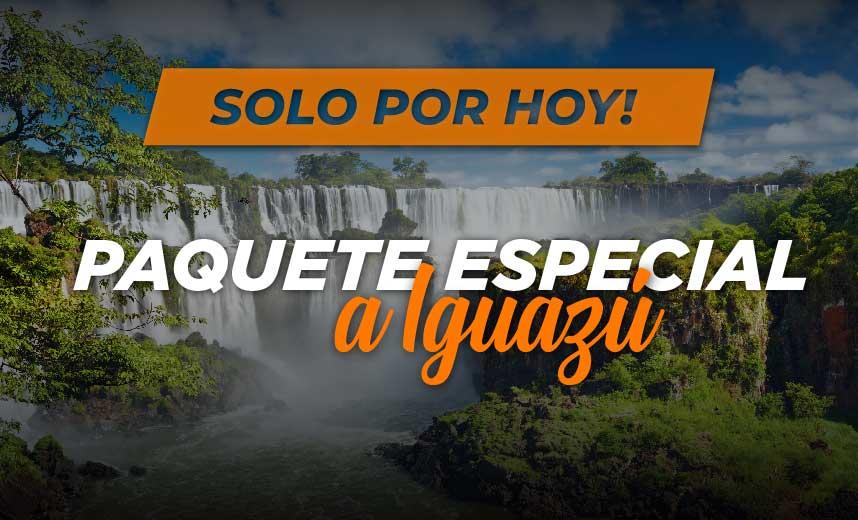 Paquete a Iguazú desde $7.431