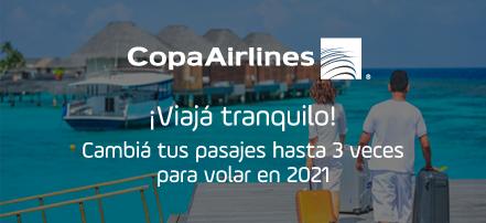 ¡Viajá con Copa Airlines!