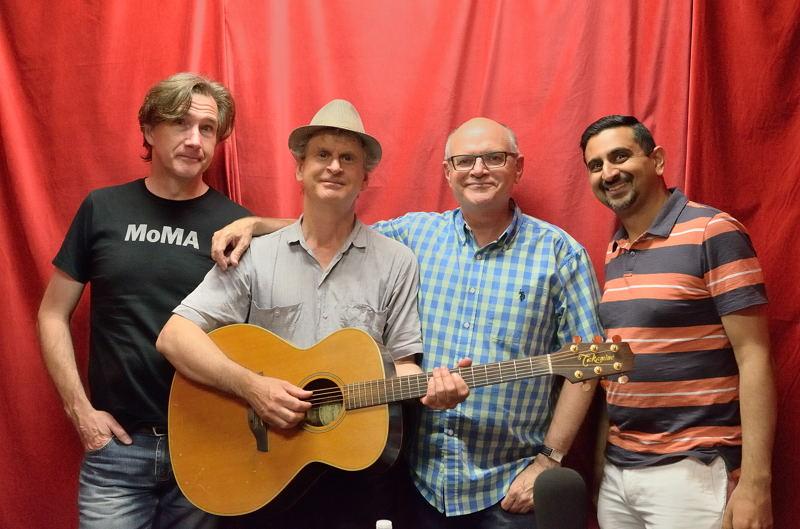 John with the guys