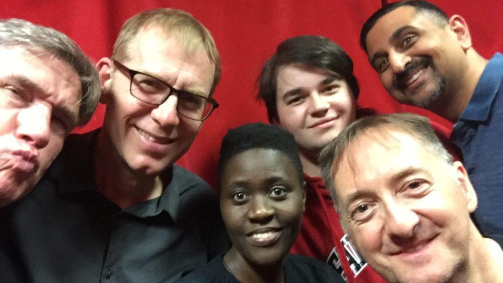 Phil, Richard, Ritah, Micah, Michael, and Neel