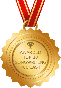 FeedSpots Top 20 Songwriting Podcast Winner 2019 Badge