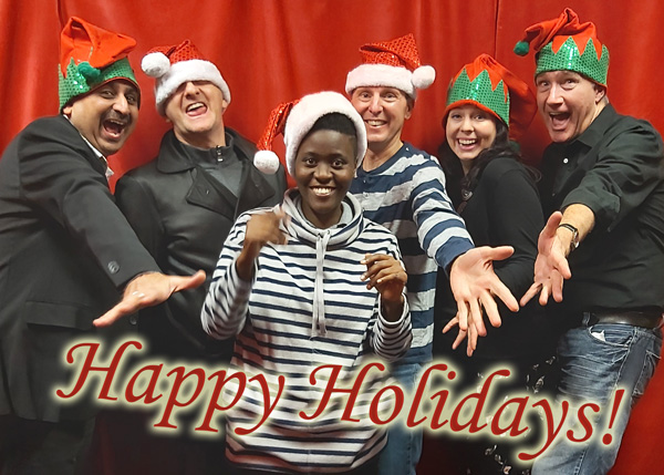Happy Holidays from Song Talk Radio - Neel, Mike, Ritah, Don, Vanessa, and Phil