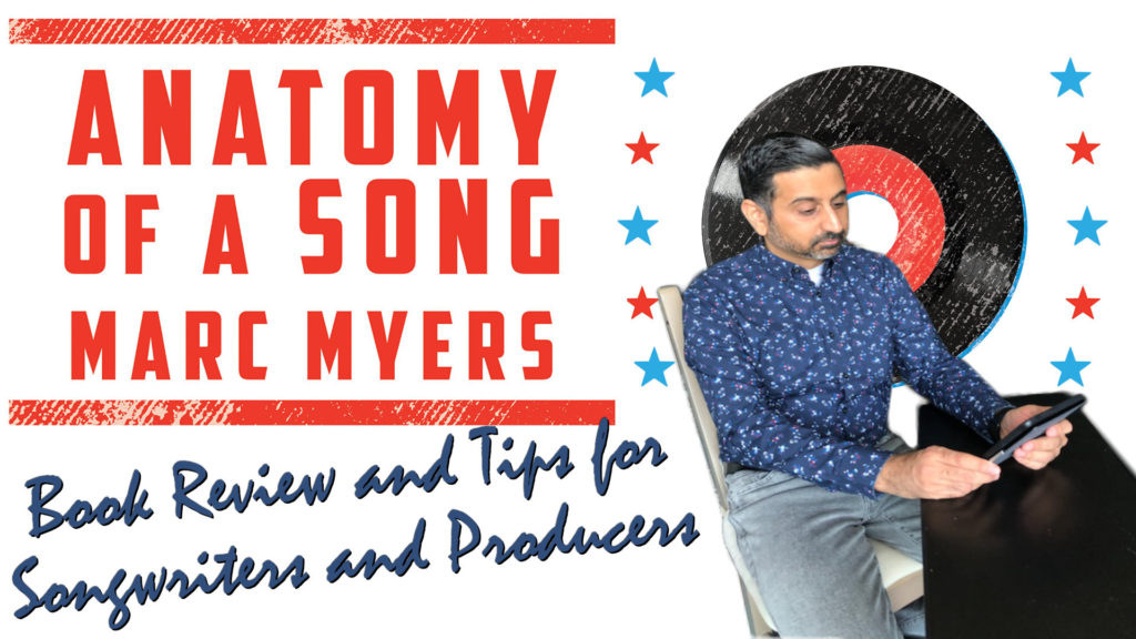 Anatomy of a Song book cover with Neel reading