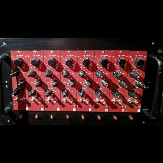 Allotrope 3 Band Mic Pre EQ 8 Channel Rack