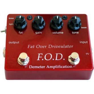 Demeter FOD-1 Fat Overdrive Pedal