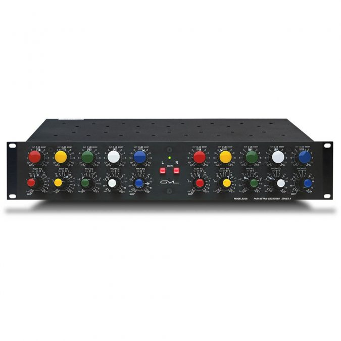 GML 8200 Dual Channel 5-Band Parametric Equalizer