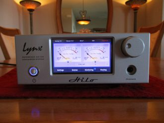 Lynx Hilo Reference A/D D/A Converter System with LT-USB Card Silver