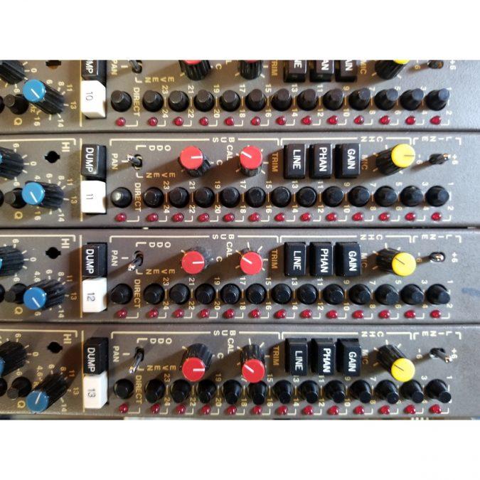 MCI JH636 Analog Recording Console (Vintage)