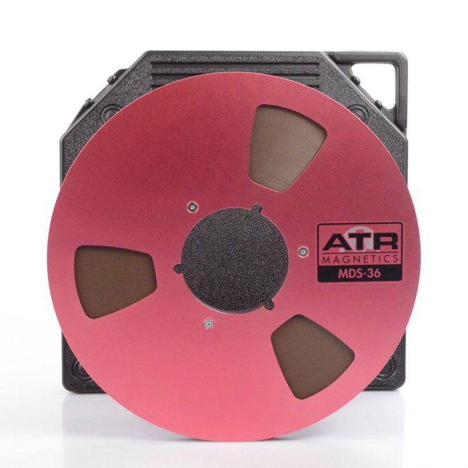 ATR MDS-36 1/4″ x 3600′ 10.5″ NAB Metal Reel Tape